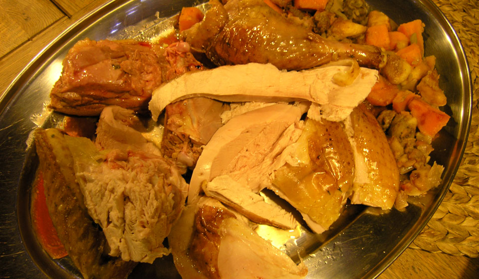 oven roasted turkey with stuffing